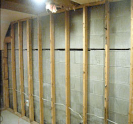 Horizontal Wall Cracks - Before