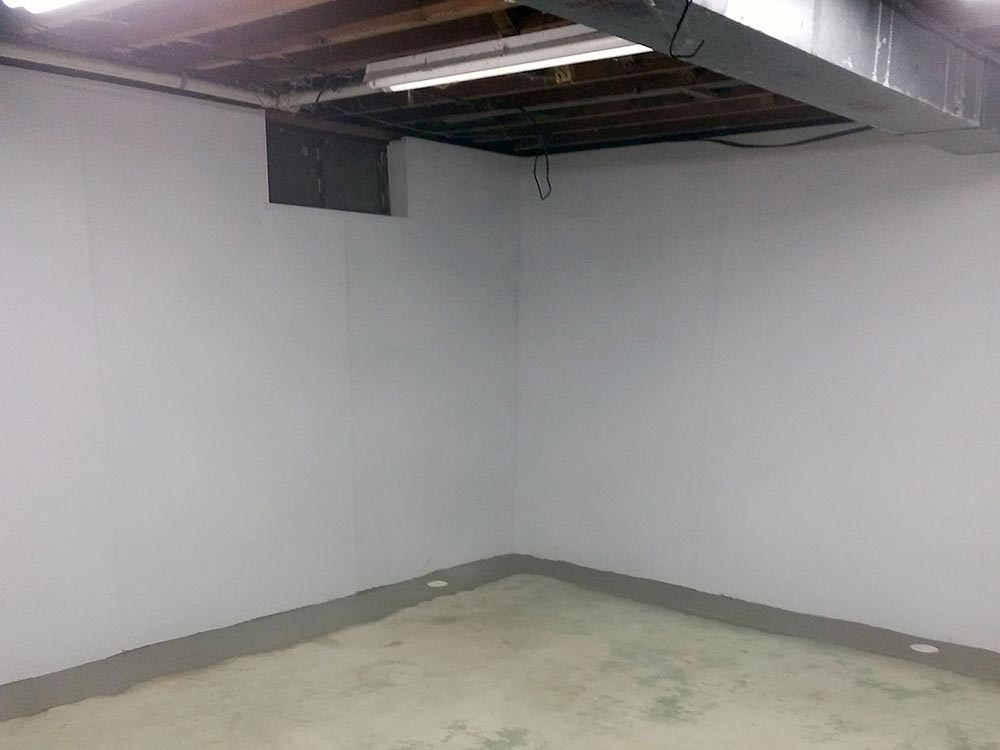 After Waterproof Basement Wall Panels